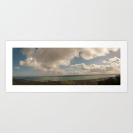 Belfast Lough Panorama Art Print