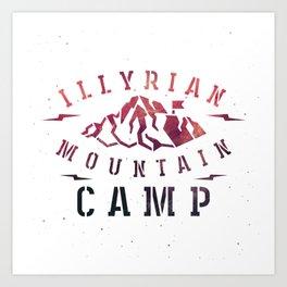 Illyrian War Camp Art Print