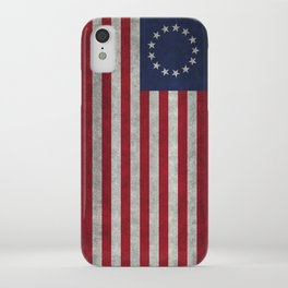 USA Betsy Ross flag - Vintage Retro Style iPhone Case