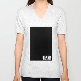 BLANK Unisex V-Neck