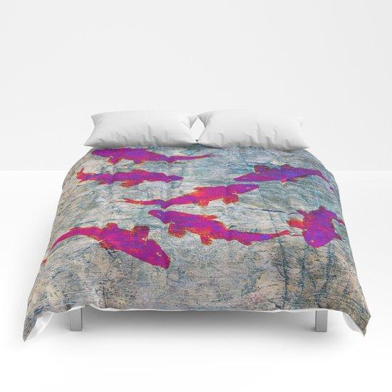 Koi Carps WW Comforters