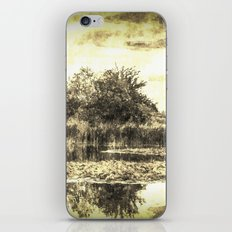 Lilly Pond Vintage iPhone & iPod Skin
