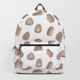 Cute hedgehogs Backpack