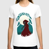 red riding hood T-shirts featuring Red Riding Hood 2 by Freeminds
