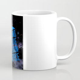 Doctor Who: The Tardis! Time and Relative Dimension in Space Coffee Mug