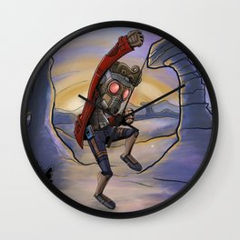 Lets Rock This Wall Clock