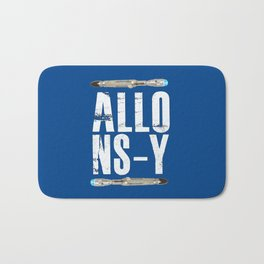 Allons-y! Doctor who sonic srewdrivers! Bath Mat