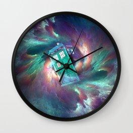 TARDIS EXPLODES Wall Clock