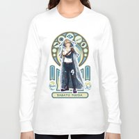 digimon Long Sleeve T-shirts featuring Digimon Cards: Matt by Dralamy