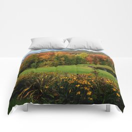 Warren Vermont Foliage Comforters