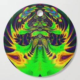 Rainbow Winged Serpent Cutting Board