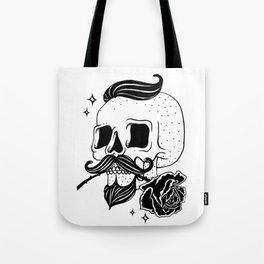 Barber Skull Tote Bag