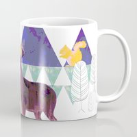 wildlife Mugs featuring wildlife by the coulsons