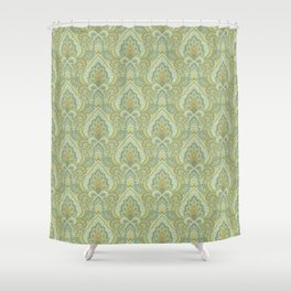 Gilded Paisley Shower Curtain