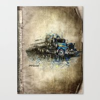 truck Canvas Prints featuring Truck by Svetlana Sewell