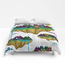 Islands in the Sky Comforters