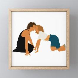Dirty Dancing movie 80s Framed Mini Art Print