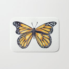Monarch Butterfly Bath Mat