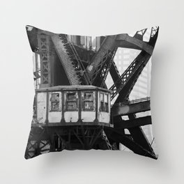 Control Booth Throw Pillow