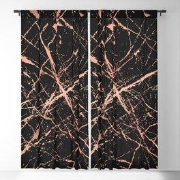 Copper Splatter 091 Blackout Curtain