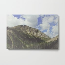 Yellowstone Mountains Metal Print