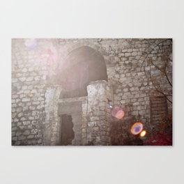 someone used to live here Canvas Print