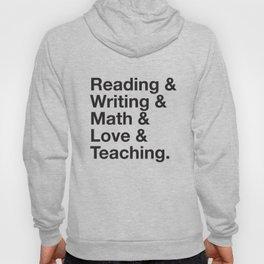 Love Teaching Hoody