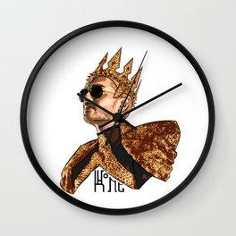 King Bill - Black Text Wall Clock