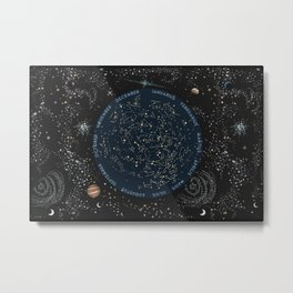Come with me to see the stars Metal Print