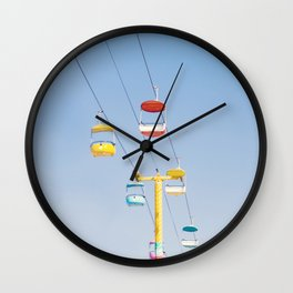 Sky Ride Wall Clock