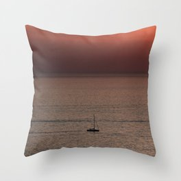 Sunset   Nature and Landscape Photography Throw Pillow