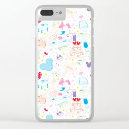 Tasting the Magic - White Clear iPhone Case