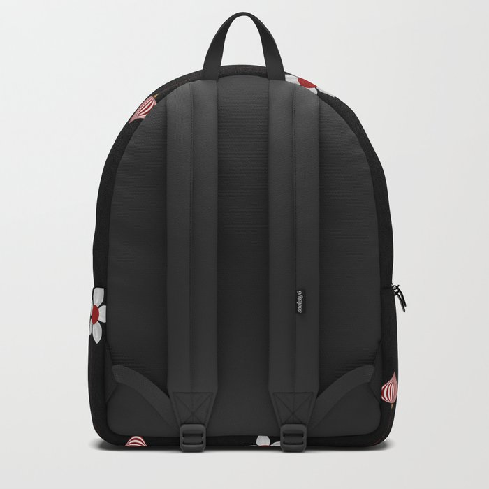 Lantern and flowers pattern Backpack
