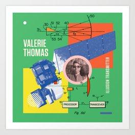 Beyond Curie: Valerie Thomas Art Print