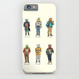 Animal Dudes iPhone Case
