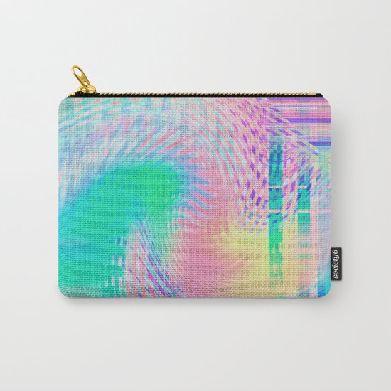 Distorted signal 03 Carry-All Pouch