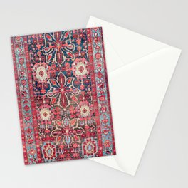 Bijar Kurdish Northwest Persian Rug Print Stationery Cards
