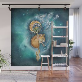 Step 1  Close your eyes - step 2 Make a Wish - step 3 Blow Wall Mural