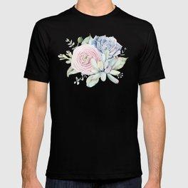 Succulent Blooms T-shirt