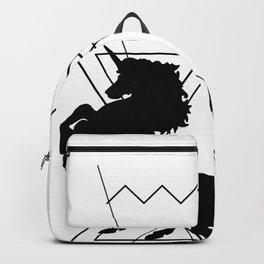 trash unicorns Backpack
