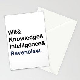 Modern House Traits- Blue Stationery Cards