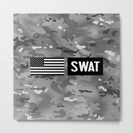 SWAT: Urban Camouflage Metal Print