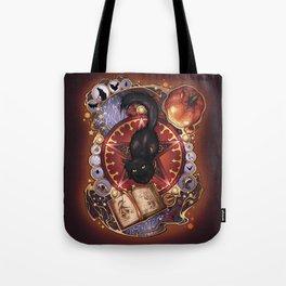 Black Cat Magic Tote Bag