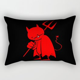 minima - sad devil Rectangular Pillow