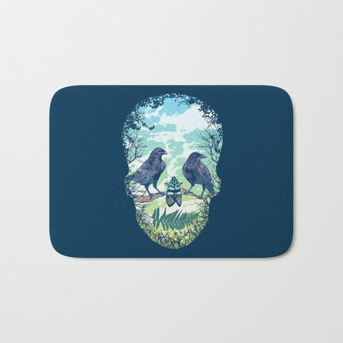 Nature's Skull Bath Mat