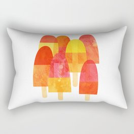 Ice Lollies and Popsicles Rectangular Pillow