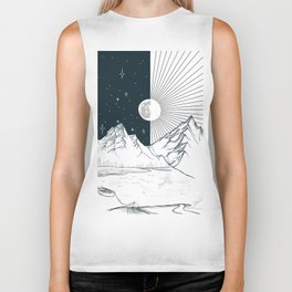 Mountain Lake Biker Tank