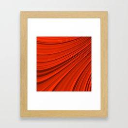 Renaissance Red Framed Art Print