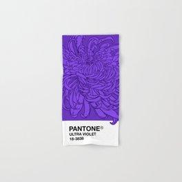 Pantone Ultra Violet 2018 Hand & Bath Towel