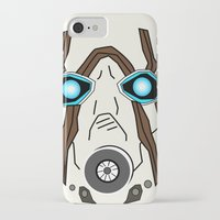 borderlands iPhone & iPod Cases featuring Bandit Borderlands by JAGraphic